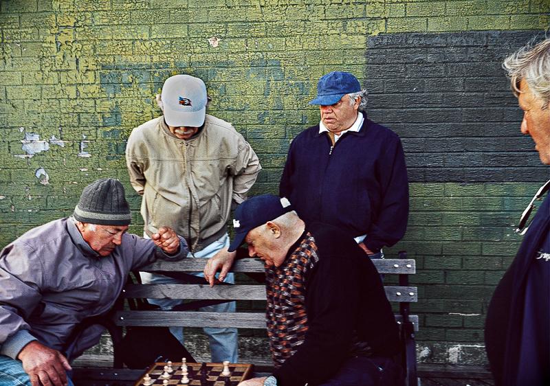 Chess In Brighton Beach